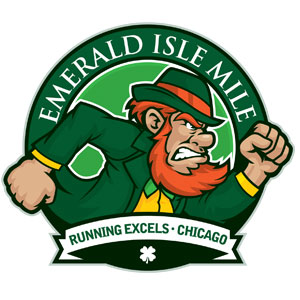 Running Excels Emerald Isle Mile logo