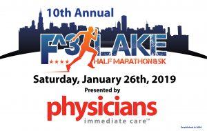 F3 Half Marathon Jan. 26, 2019