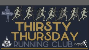 Running Excels Thirsty Thursday Running Club at Open Outcry
