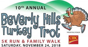 10th Annual Turkey Trot is Nov. 24