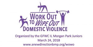 Running Excels is participating in a 4-mile walk and a 6-mile run this Saturday, March 24 as part of the local event called Work Out to Wipe Out Domestic Violence