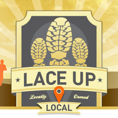 Lace Up Local logo